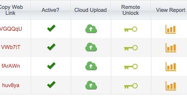 Protectedpdf Upload to Cloud