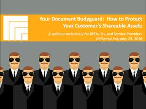 Your Document Bodyguard